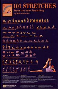 Picture of 101 Stretches Poster
