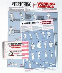 "Picture of Stretching for Working America 17"" x 22"""