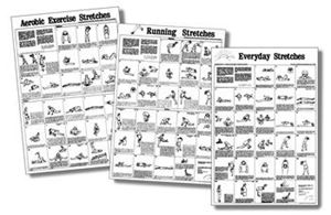 Picture of Stretching Wall Charts (flat/paper)