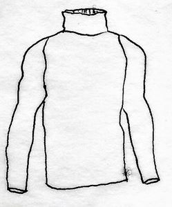 Picture of QB-1 Shirt, TurtleNeck